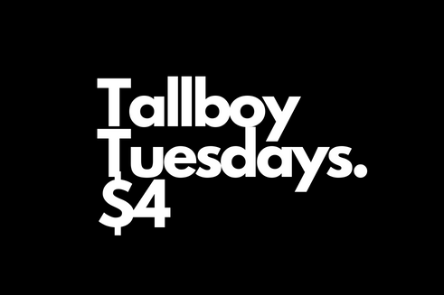 choose from 9 different tallboys. nothing classier than a can of pbr!