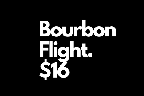 """""""once scotch...one bourbon...one beer!"""" To be clear it's 4 bourbon.  get ready take a trip to the american south y'all!"""