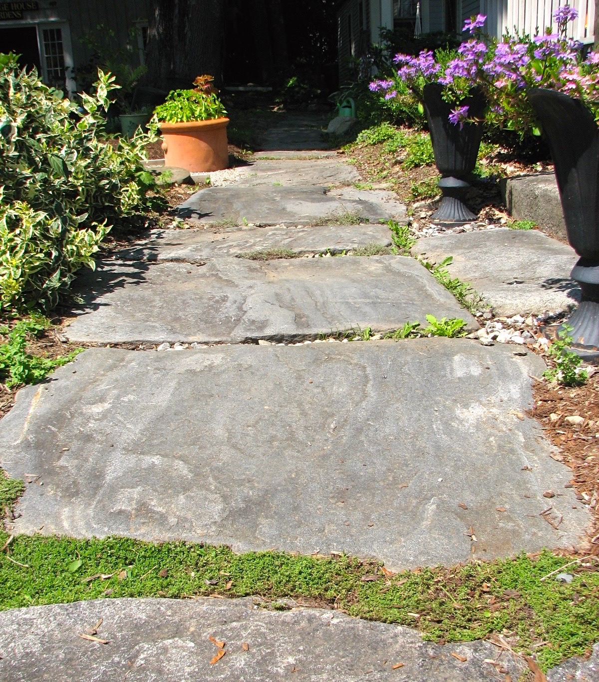 paths, or circulation, are an important element of a successful garden.