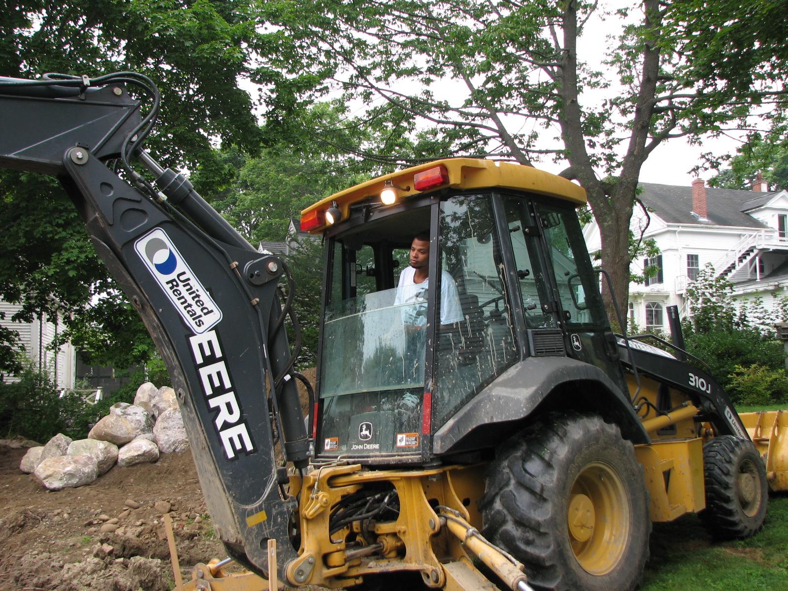 Jon in excavator.JPG