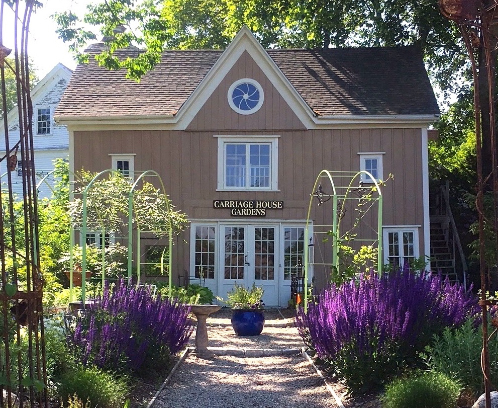 Early summer at Carriage House Gardens