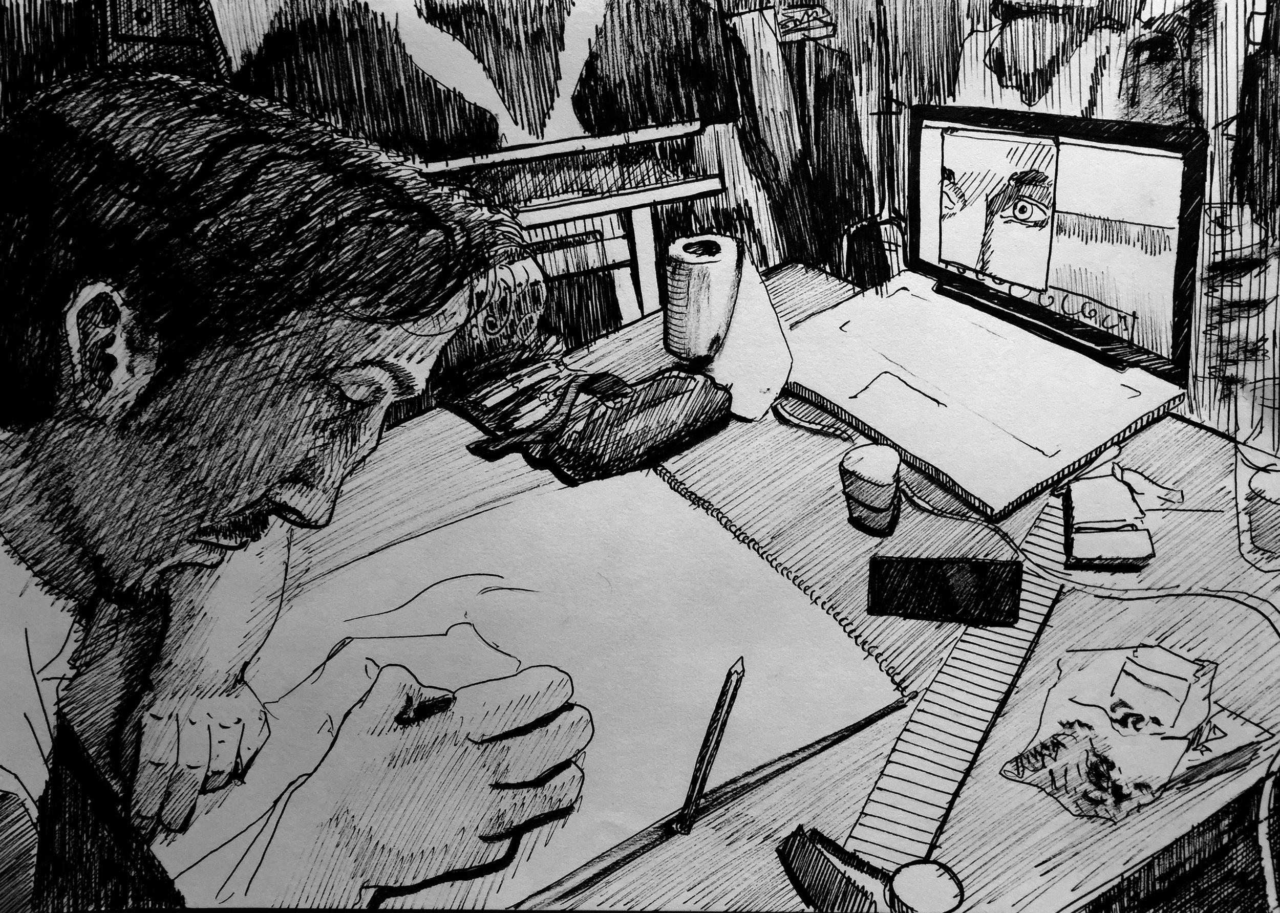 Drawing Sebastian Drawing.