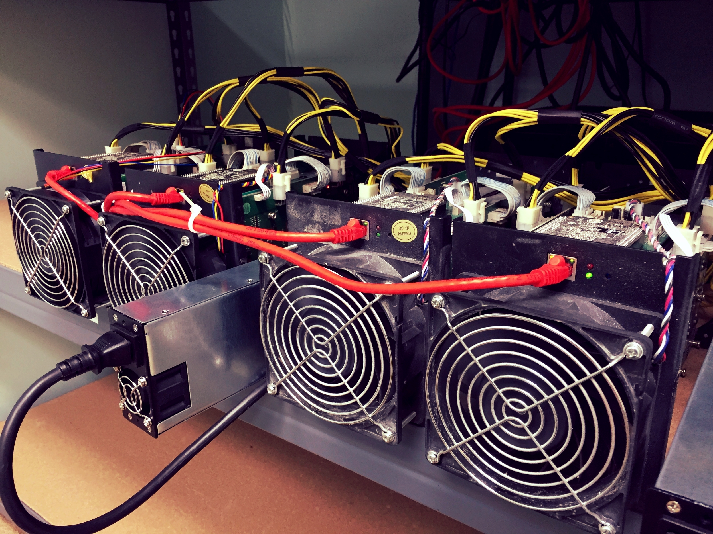 The new Antminer S5's