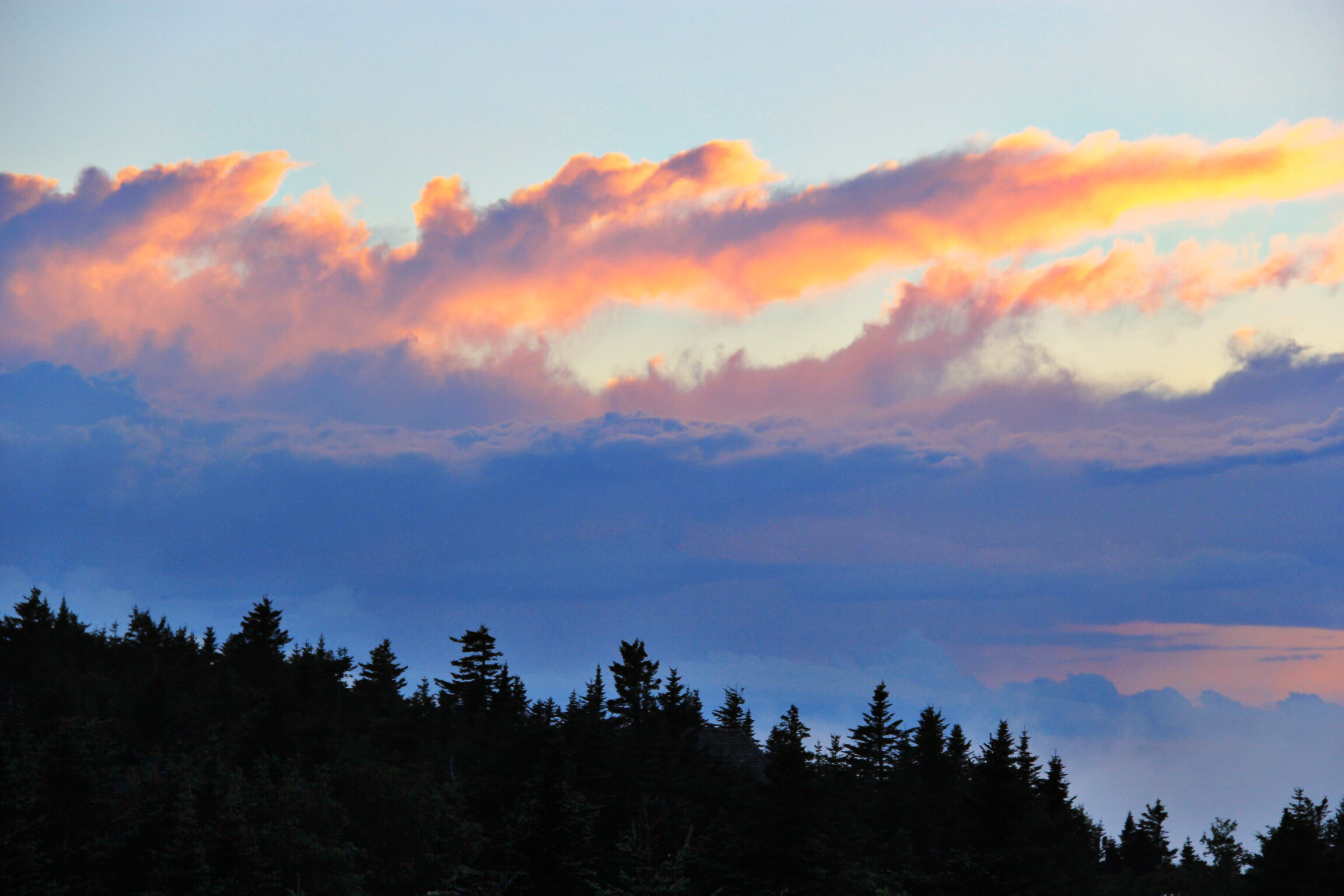 Sunset atop Cadillac Mountain, Acadia National Park - The Pastiche