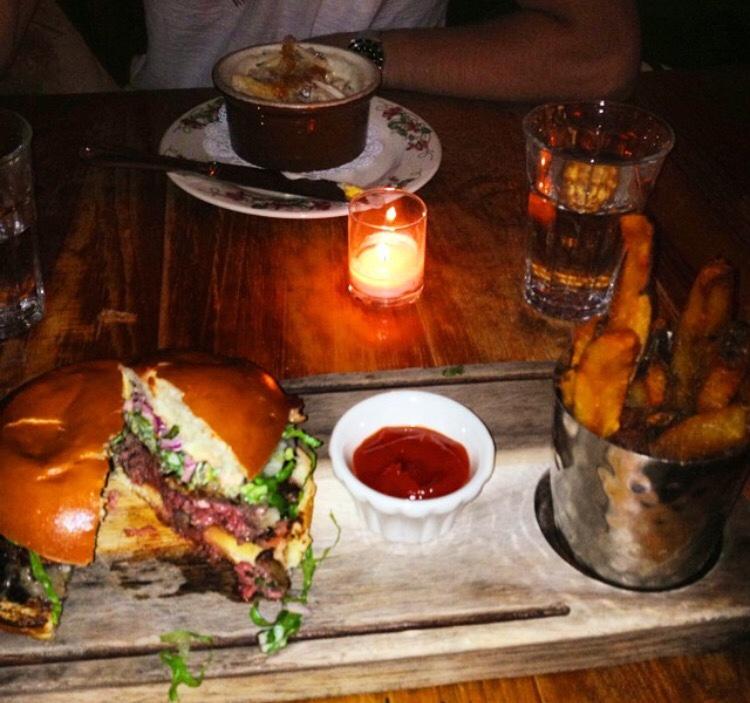Late night eats at The Dandelion - Philadelphia