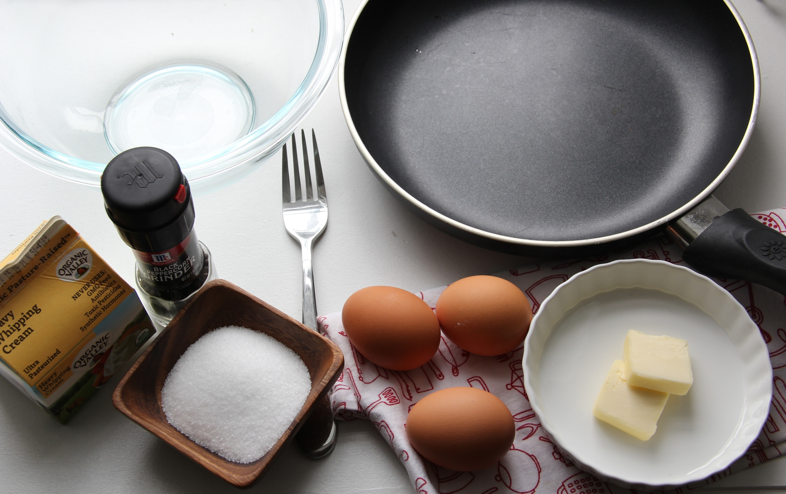 Making a perfect omelette - The Pastiche