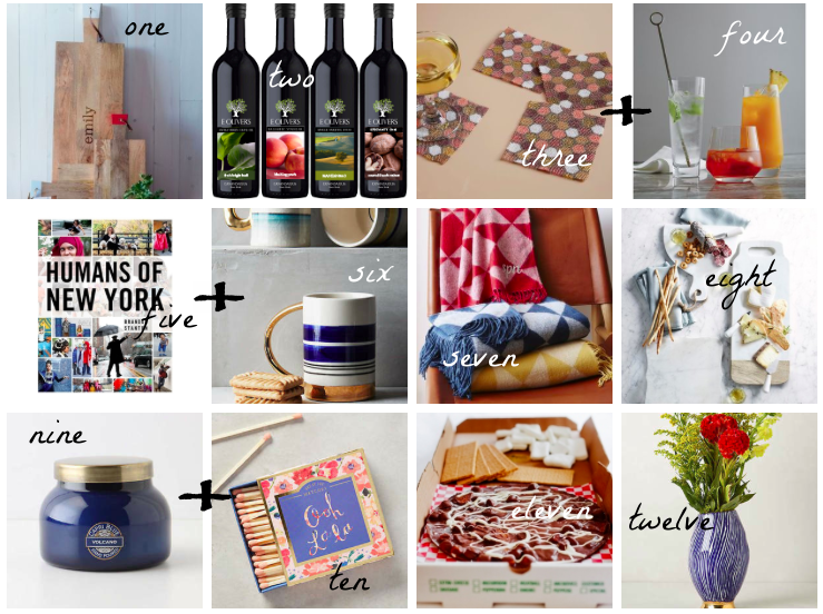 Gift guide for those you're friendly with - The Pastiche