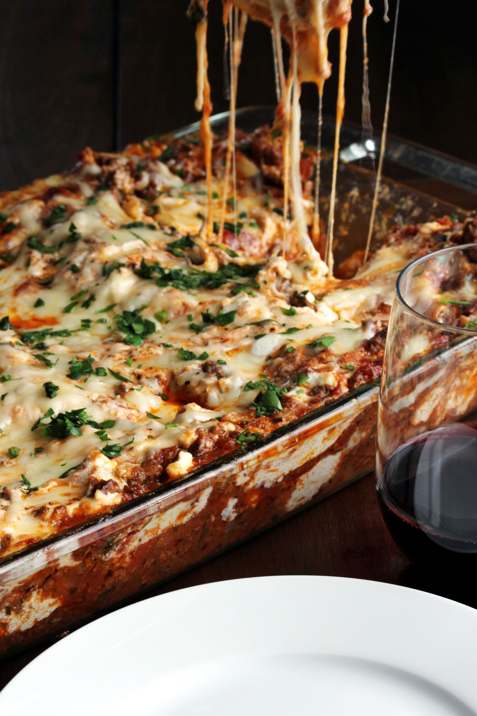 Jon's four-cheese lasagna - The Pastiche