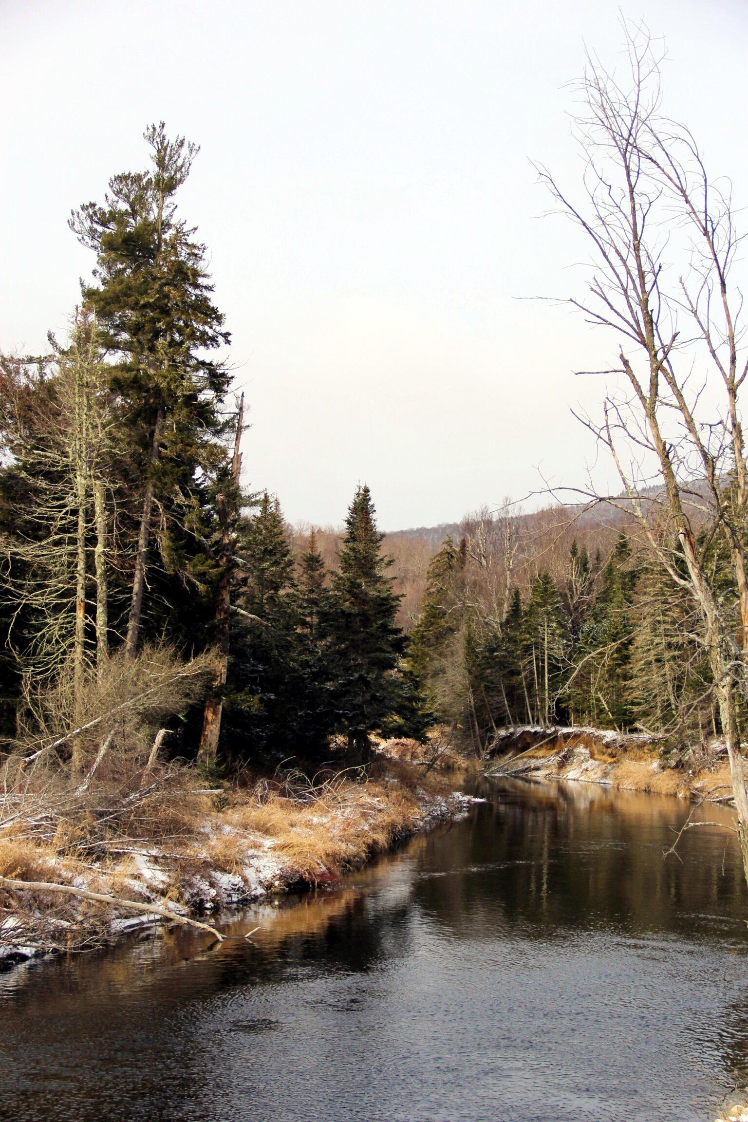 Adirondacks in winter - The Pastiche