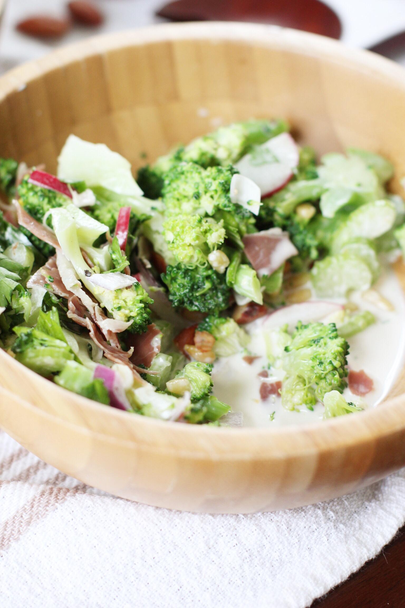 Broccoli salad - The Pastiche