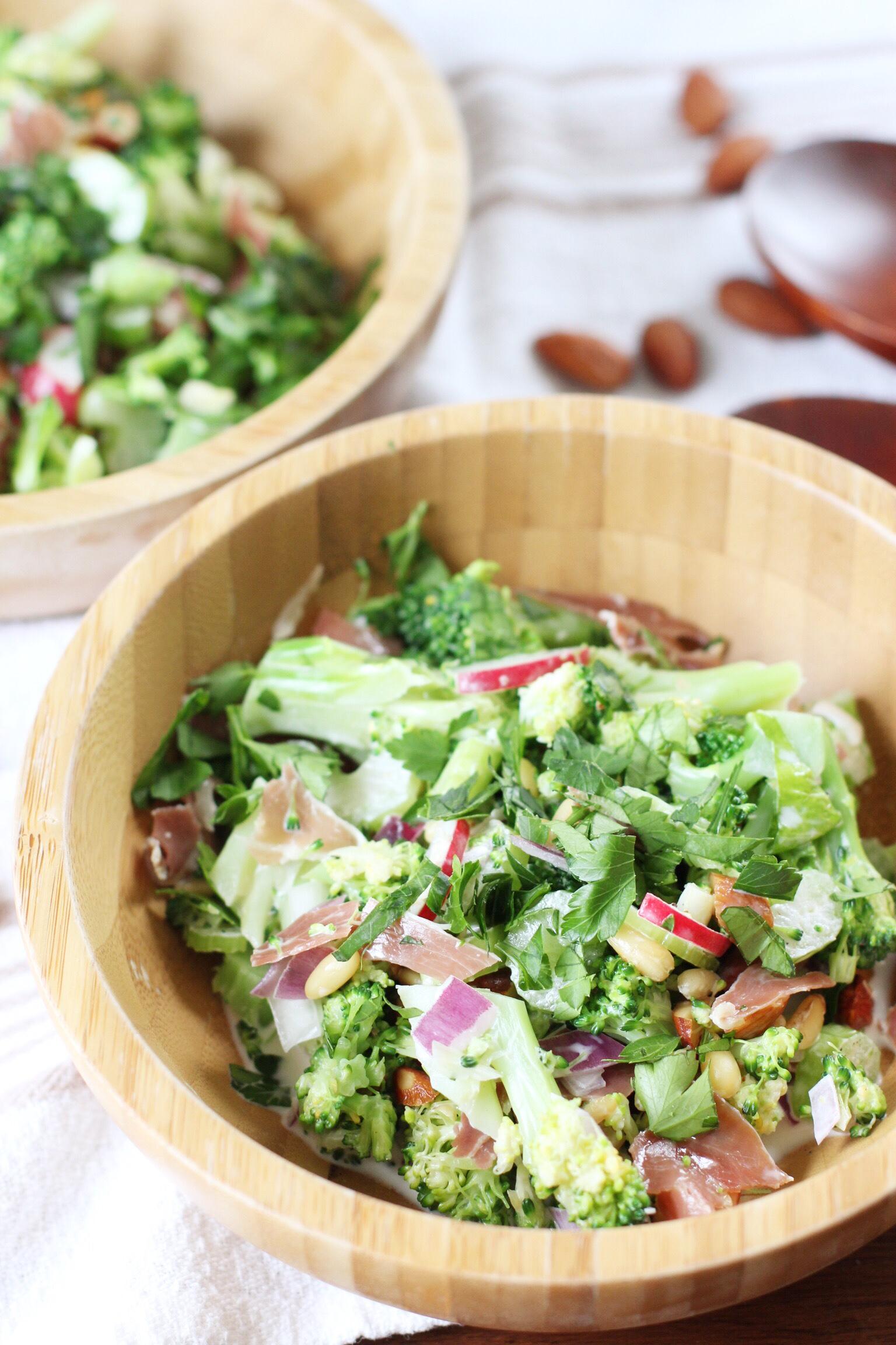 Loaded broccoli salad - The Pastiche