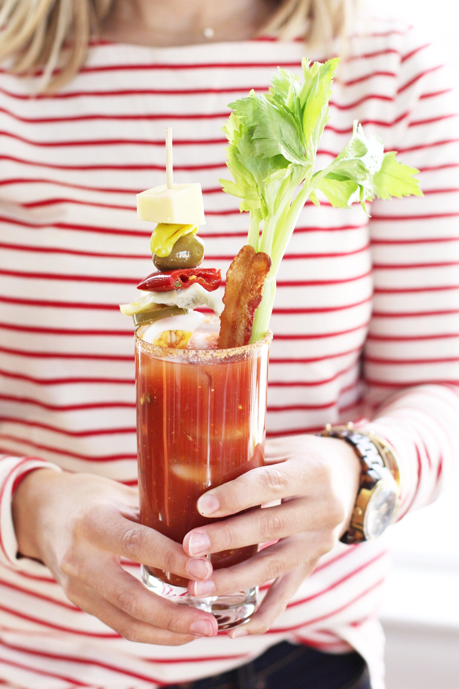 The Best Bloody Mary Bar - The Pastiche