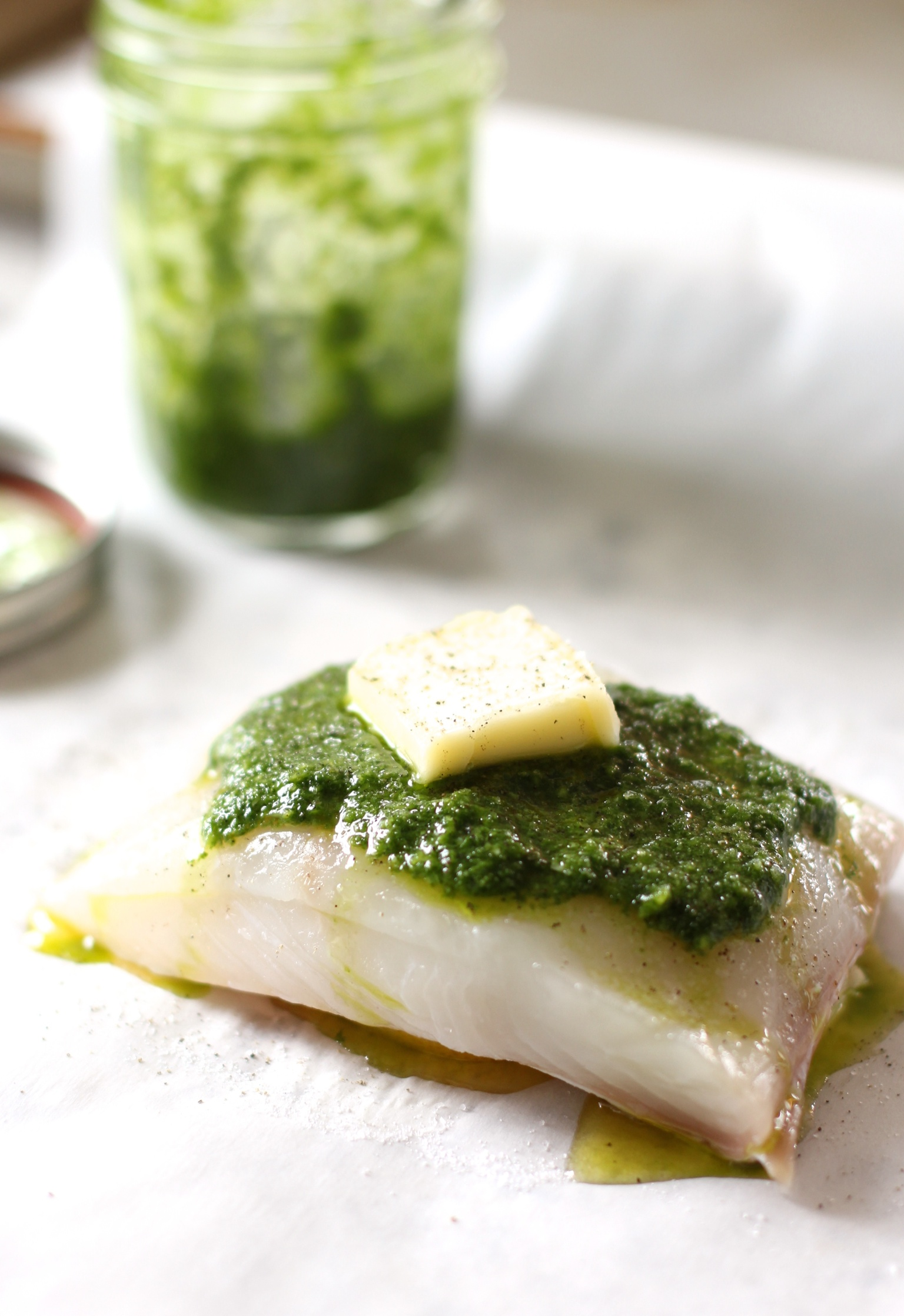 Halibut en papillote - The Pastiche
