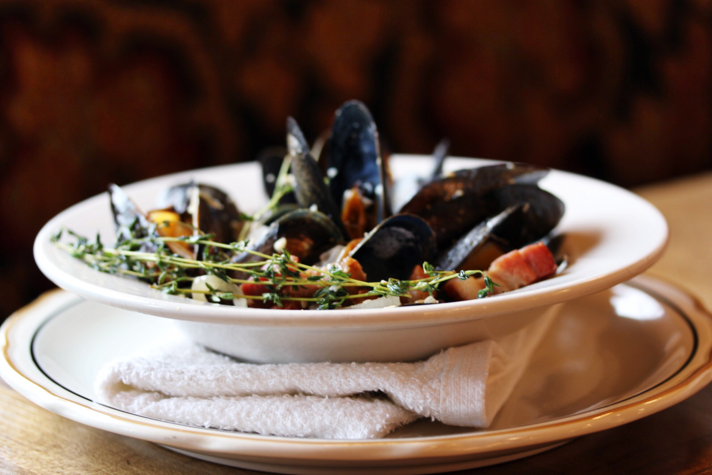 Roux mussels - Rochester, New York