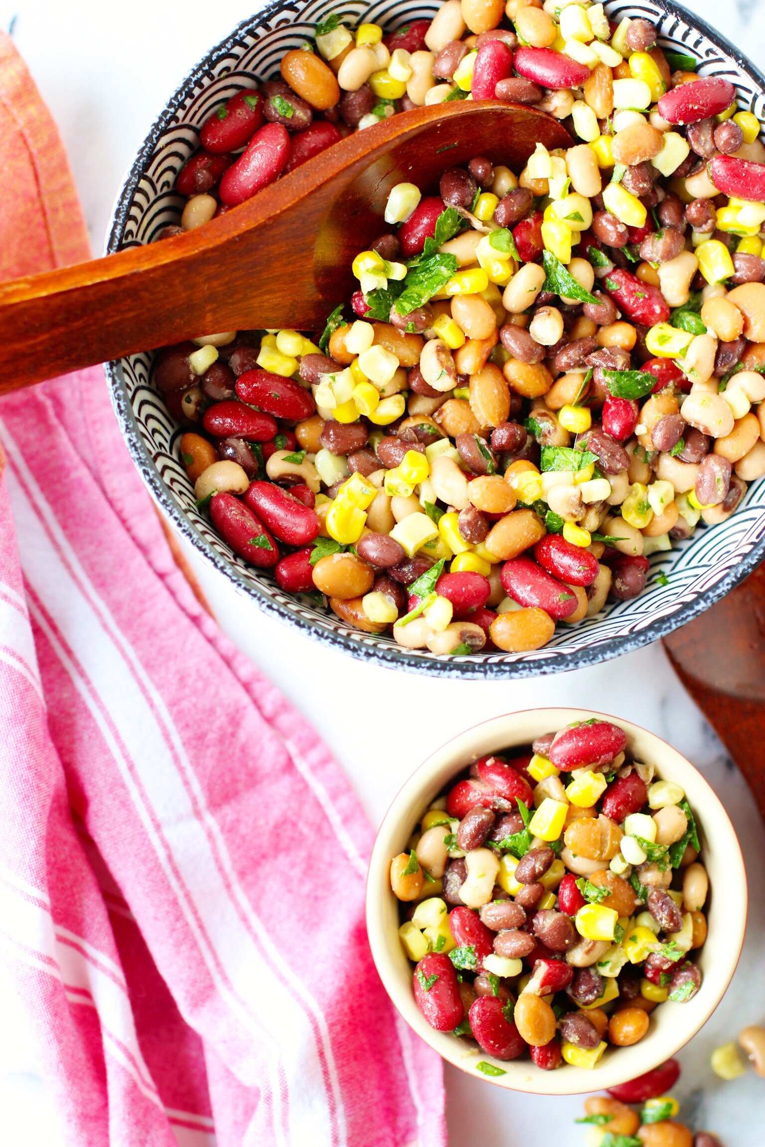 4th of July bean salad - The Pastiche