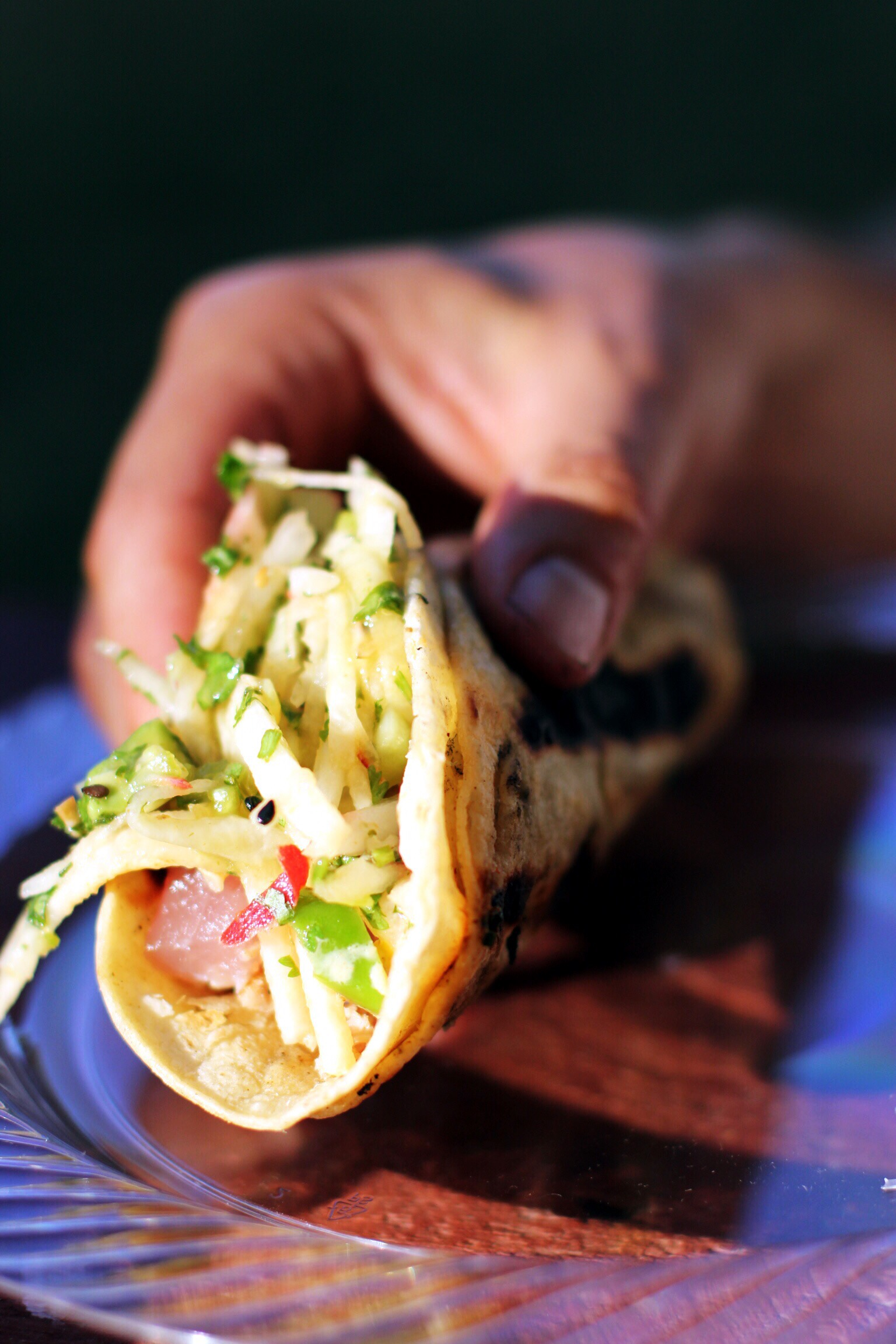 The best grilled ahi tuna tacos - The Pastiche