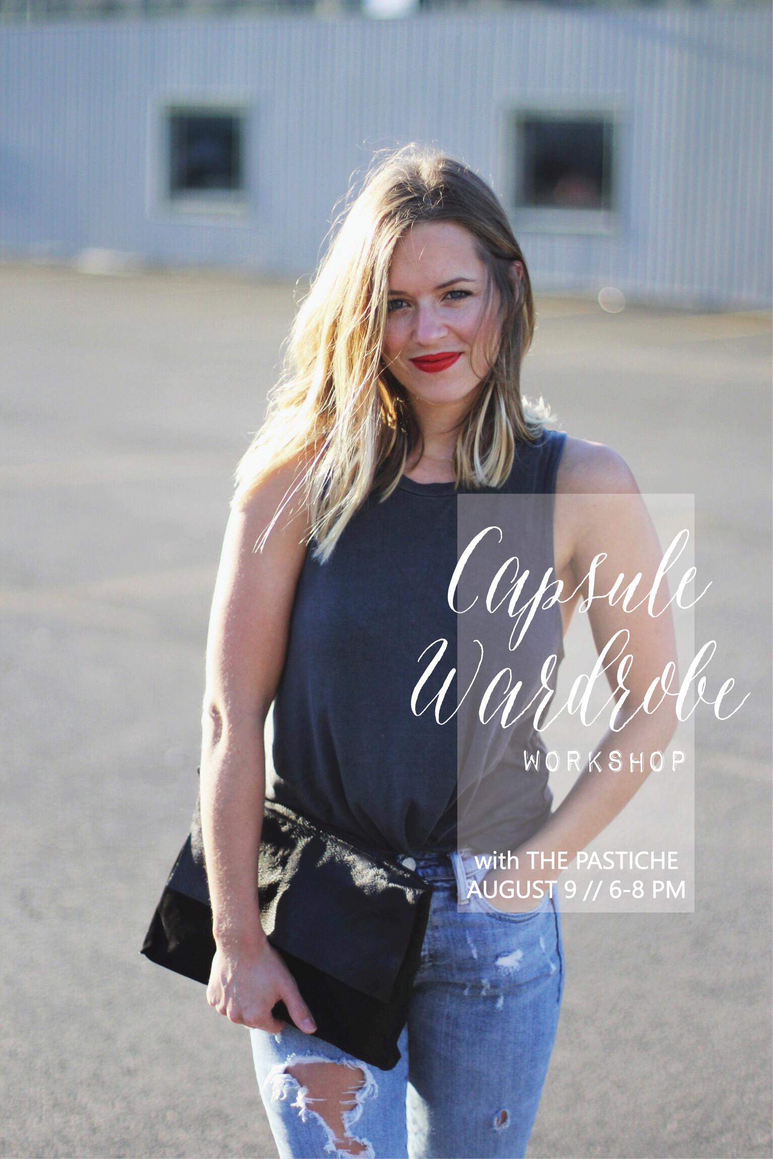 Capsule Wardrobe workshop at West Elm! - The Pastiche