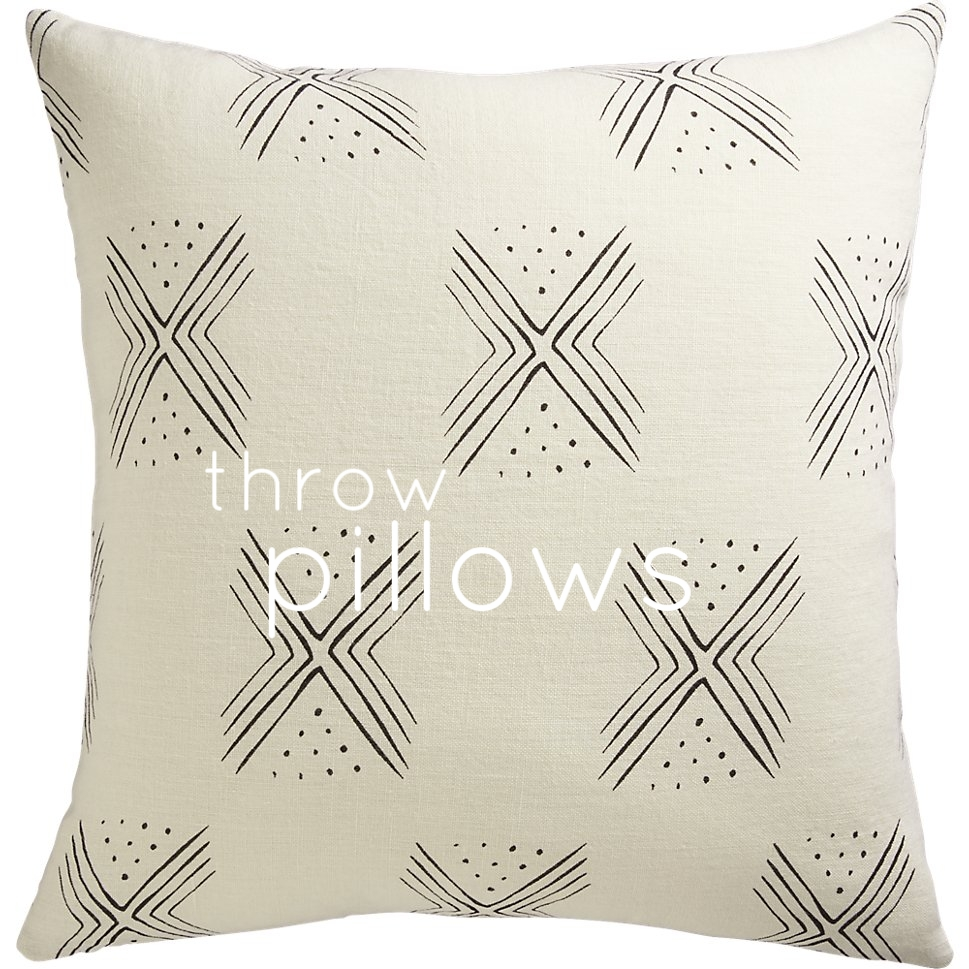 In the market for throw pillows (a roundup) - The Pastiche