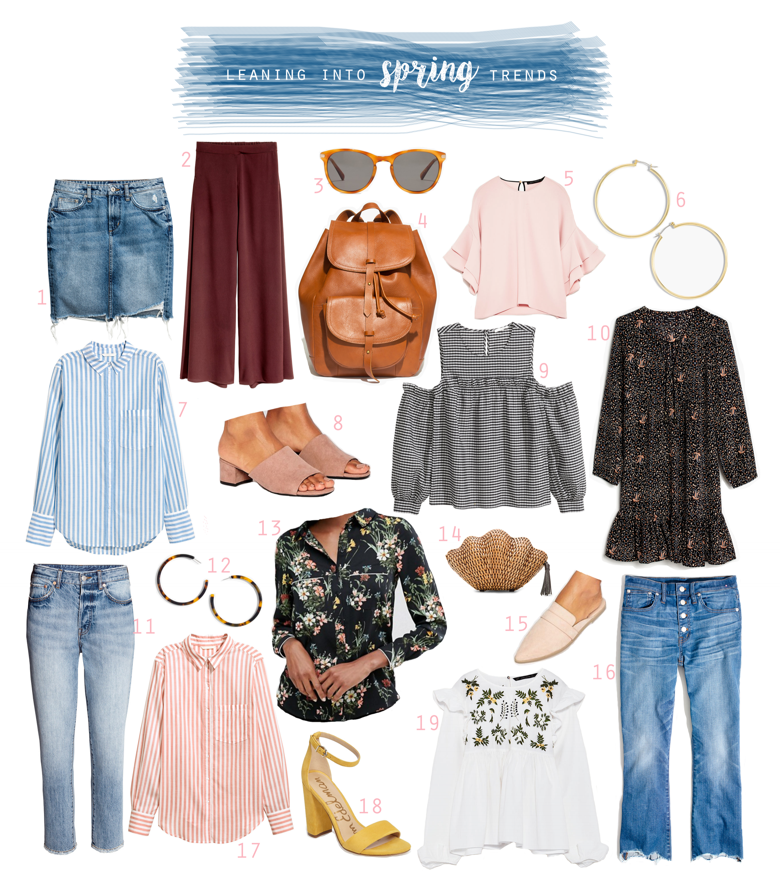 Leaning into spring trends - The Pastiche