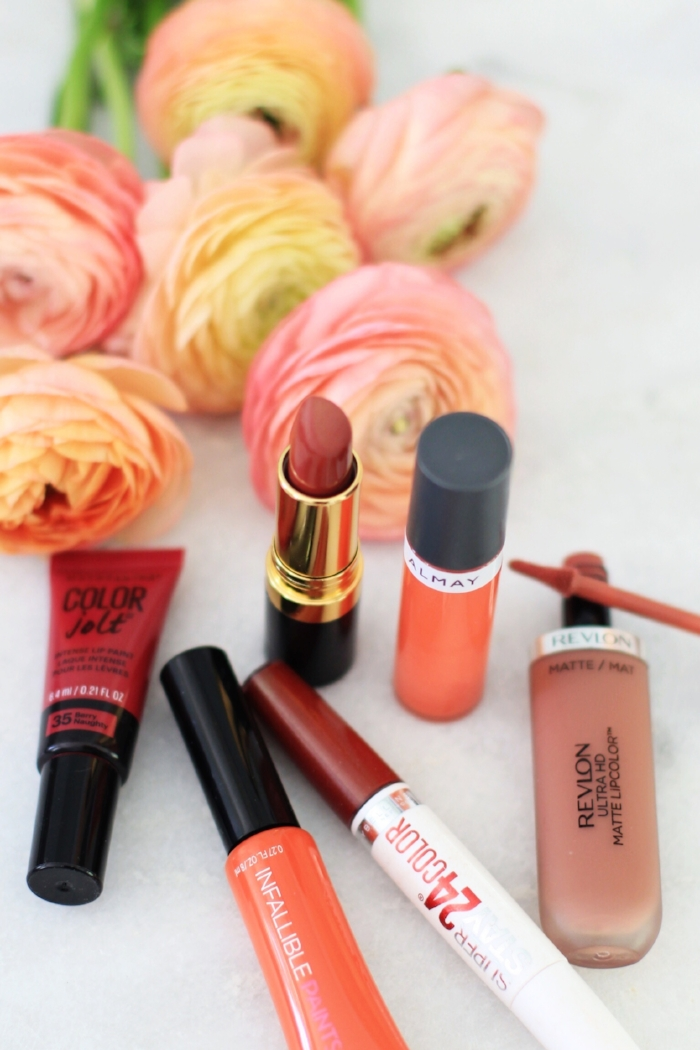 Drugstore lipstick roundup #2