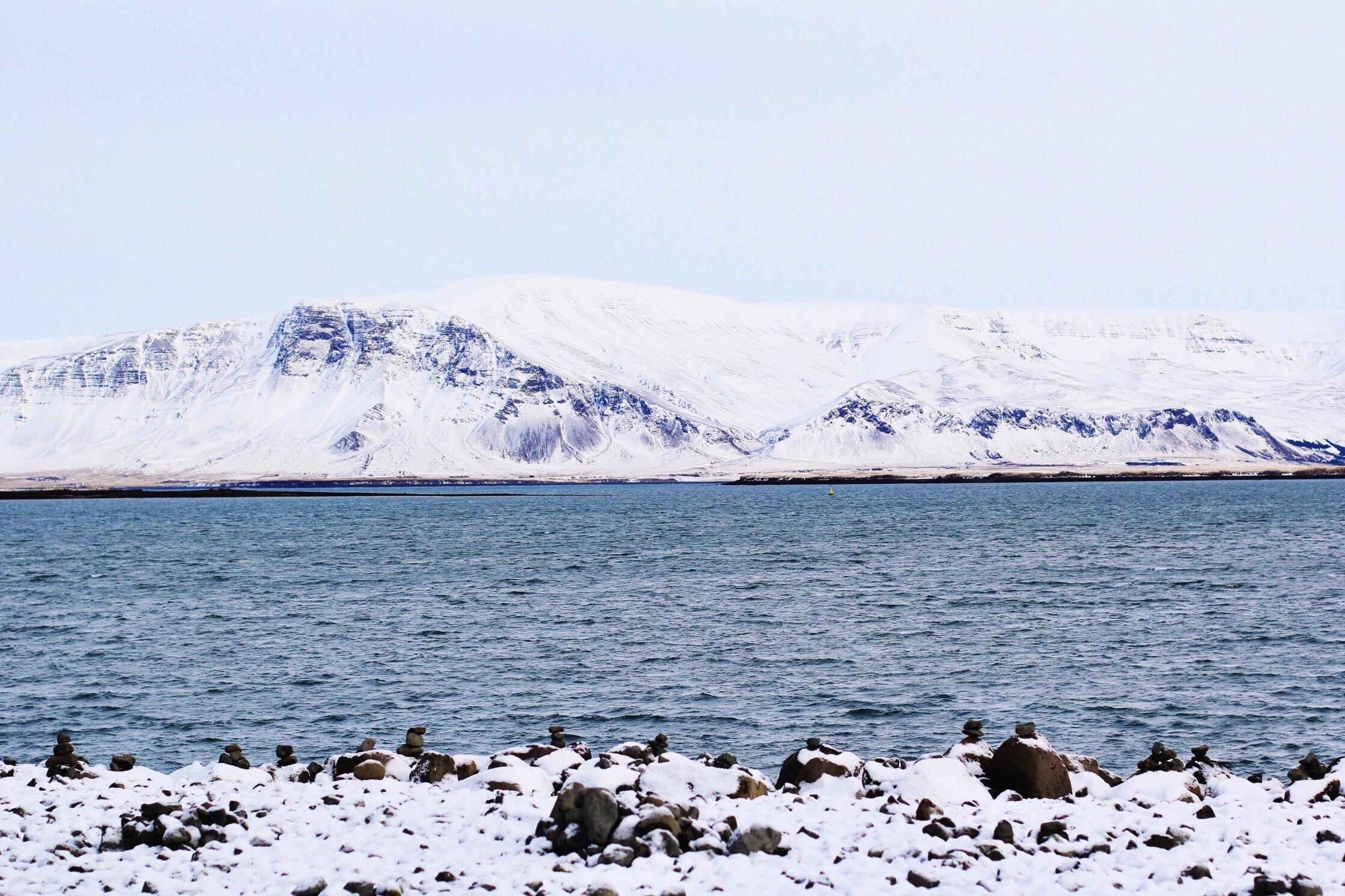 Ocean views in Reykjavik