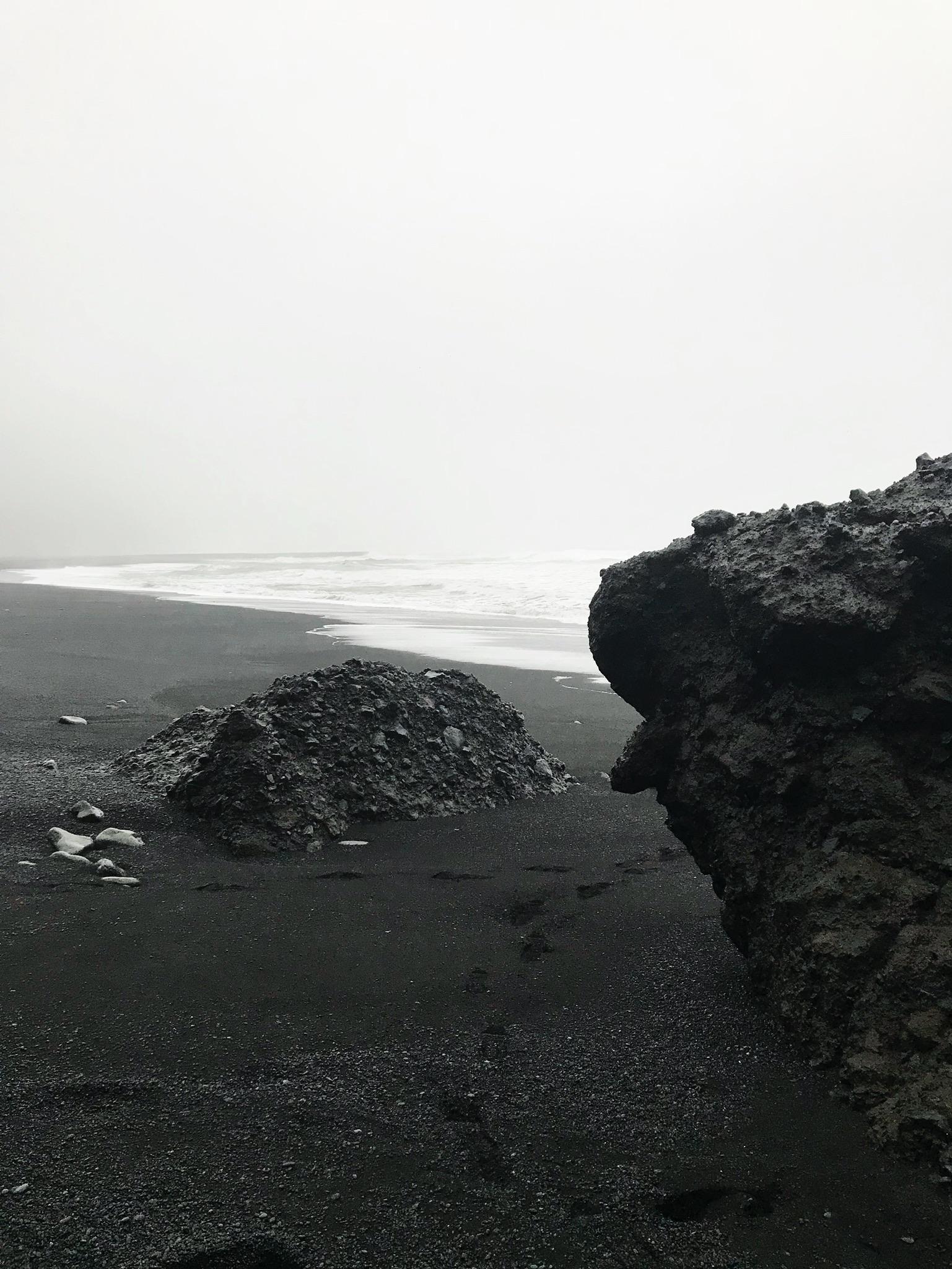 Basalt and black sands in Vik and Reynisfjara