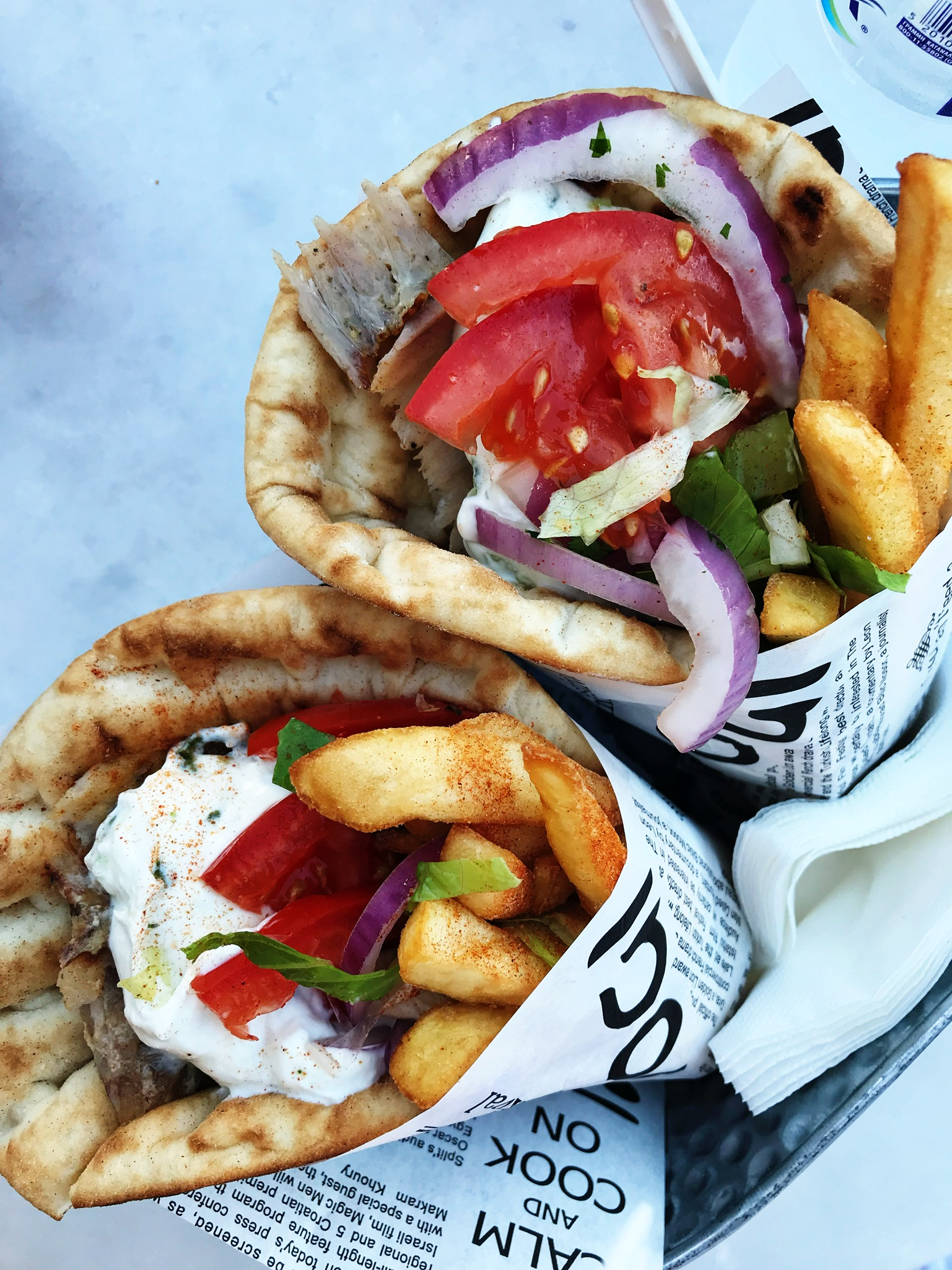 400th gyro of the trip
