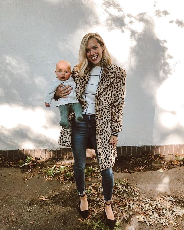 Thanks @pamtcairns for the leopard coat of my dreams! Print mixing with Grace Swan today. #cabi