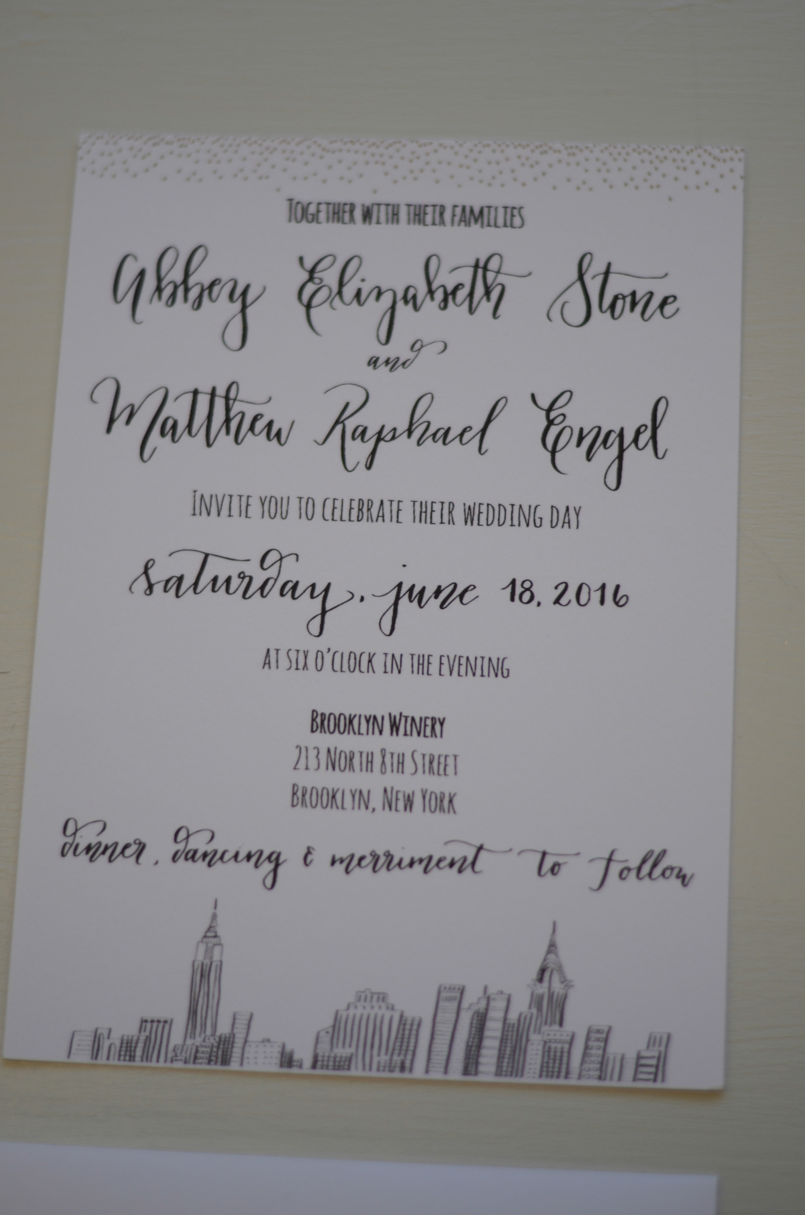 calligraphy calligrapher south texas san antonio calligraphy SA wedding bride invitation suite custom