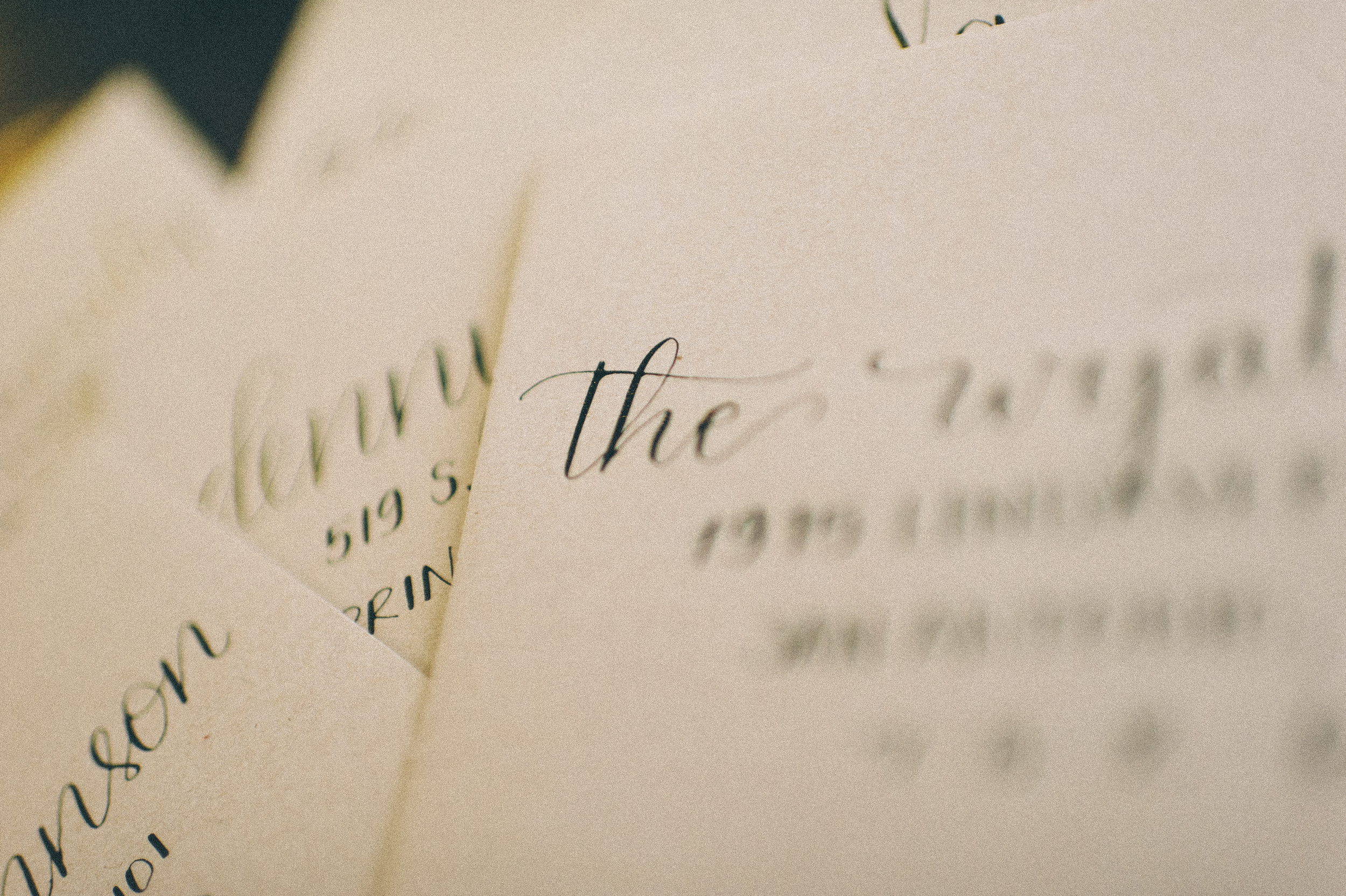san antonio calligrapher south texas calligrapher modern calligraphy wedding save the dates inspiration addressing bride