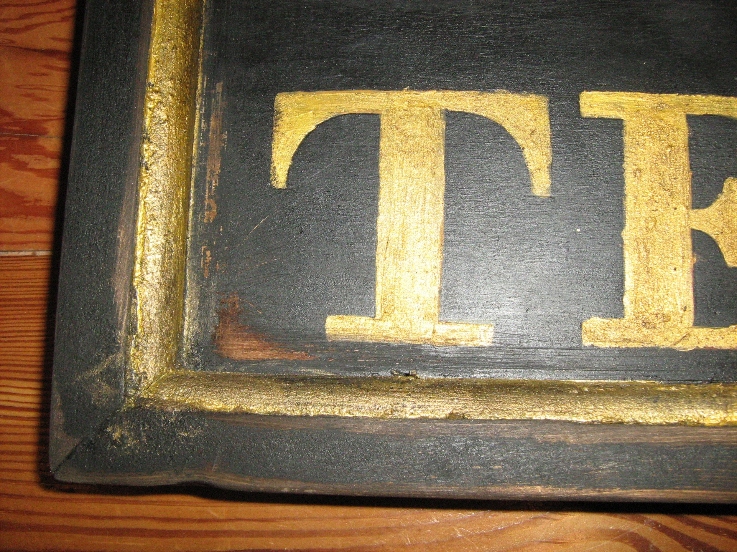 Sign for the Temperance Hotel, c. 1826-42 (Side 2) [detail]