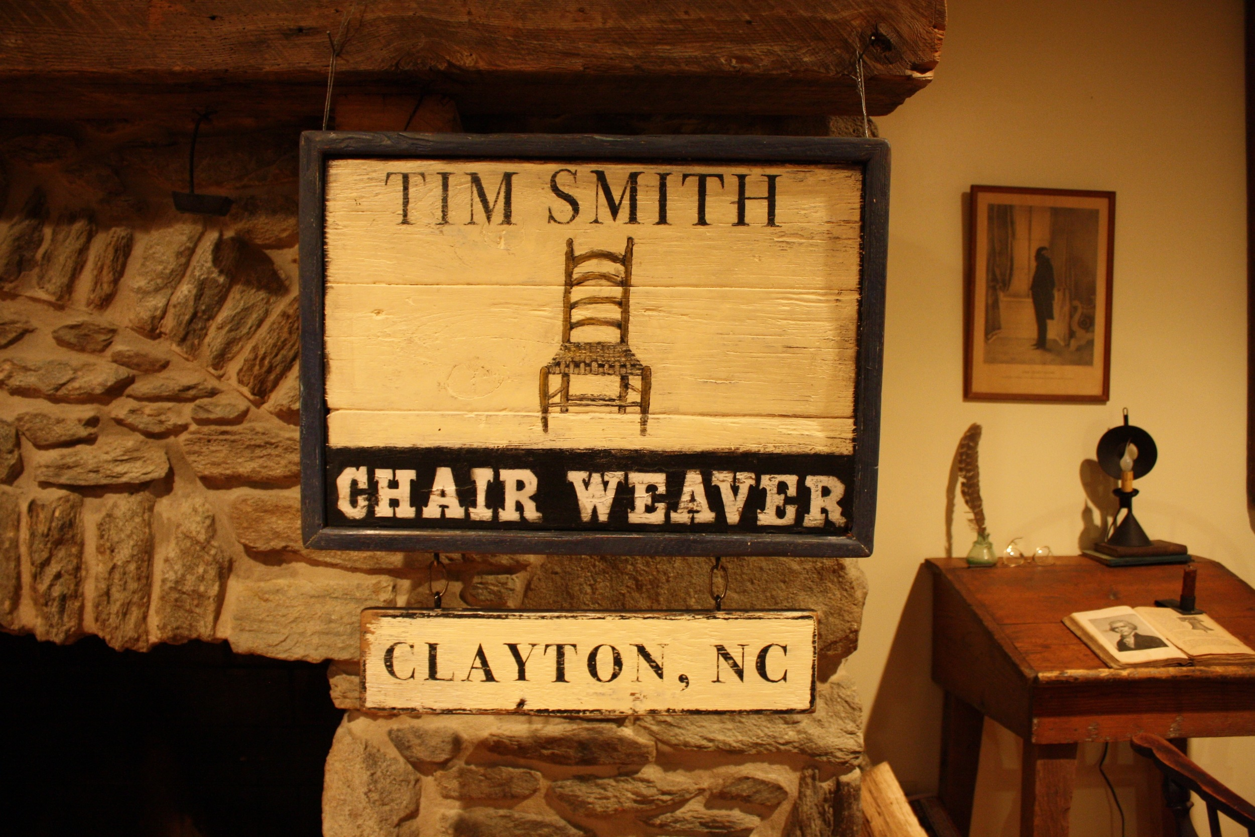 Tim Smith, Chair Weaver (with drop-down)