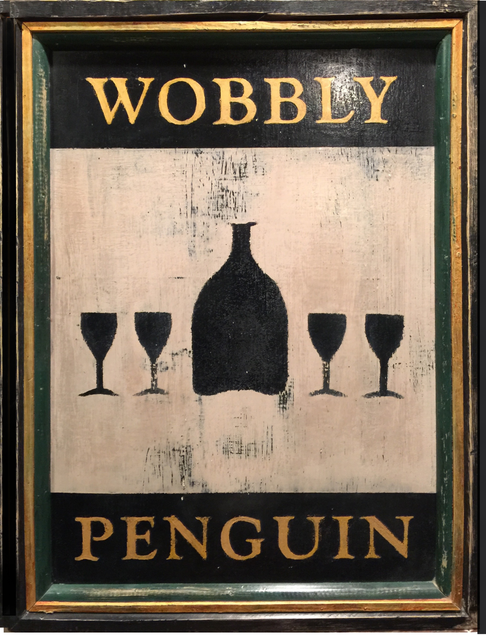 The Wobbly Penguin (reverse side)