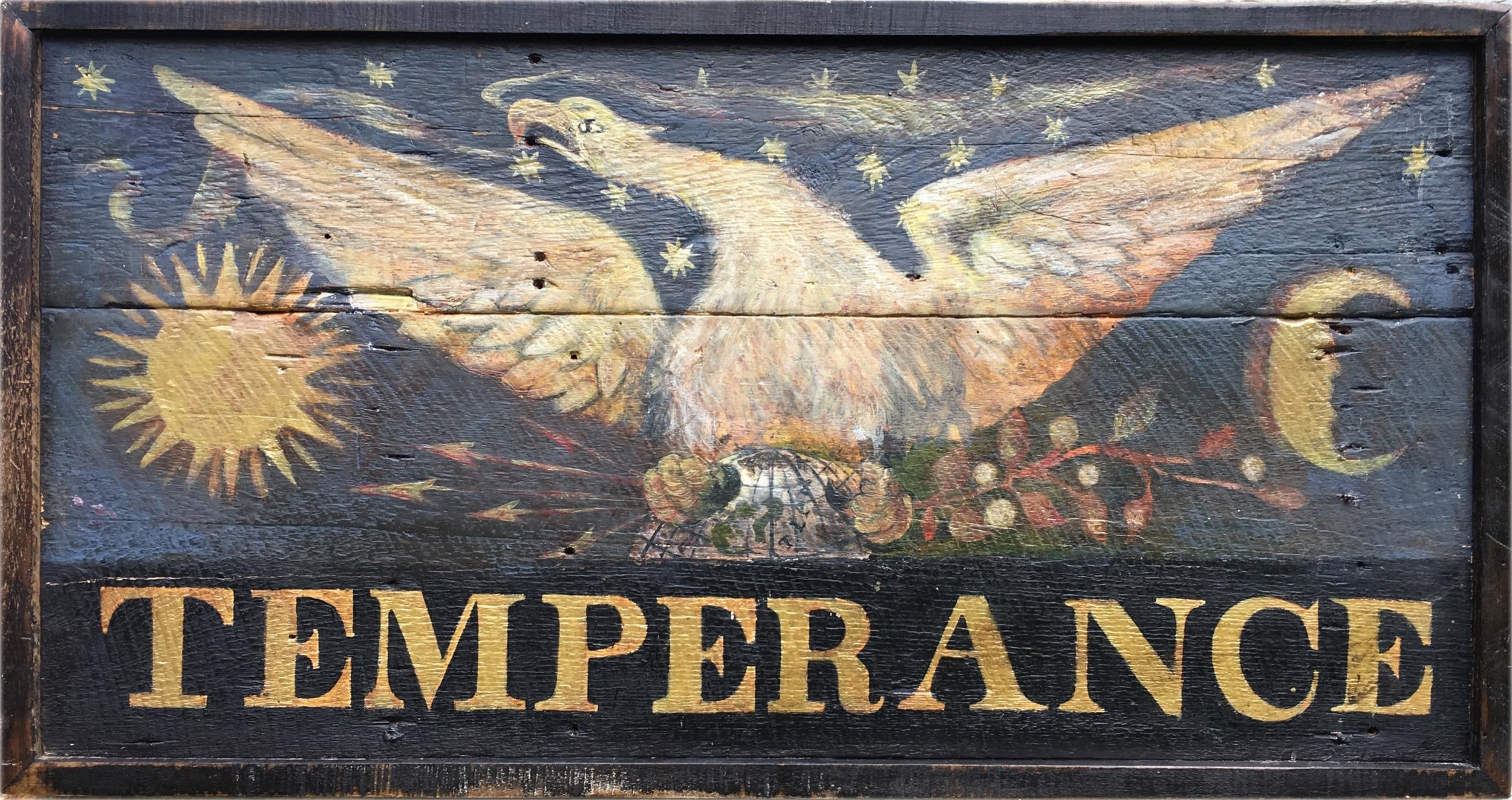 Sign for the Temperance Hotel, c. 1826-42 (Side 2) ex2
