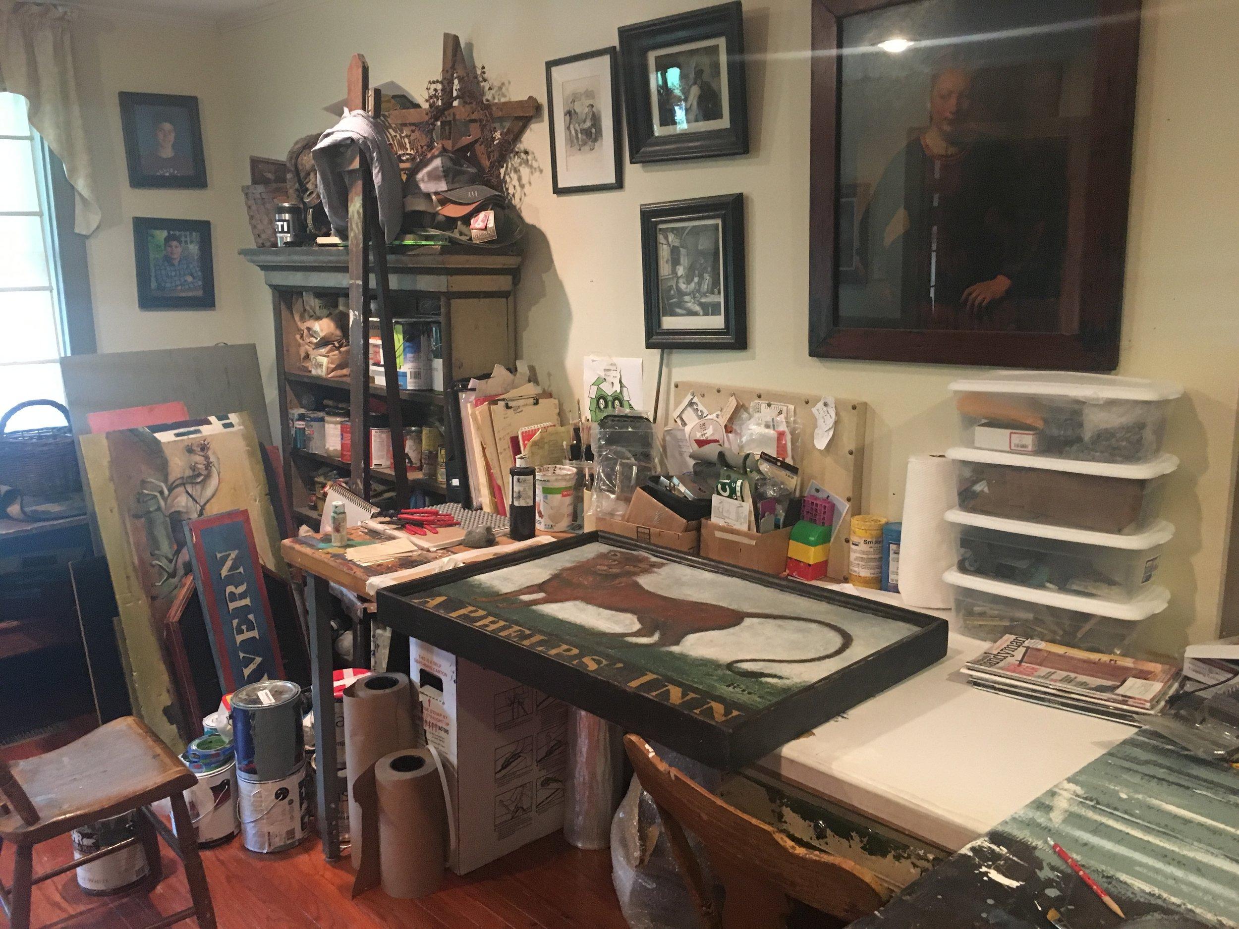 colonial american sign company_studio_in progress