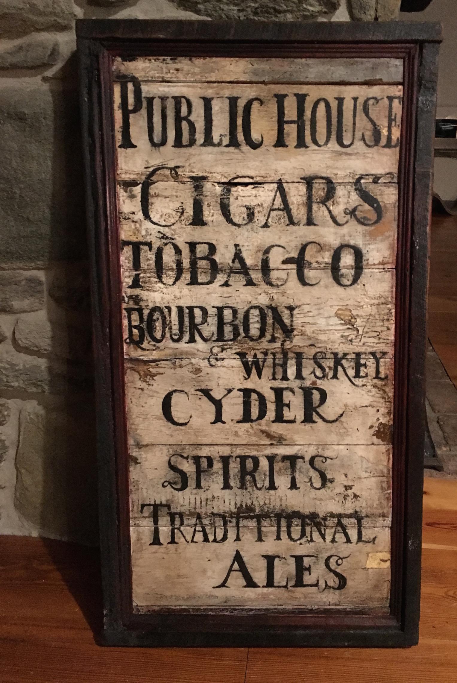tavern menuboard_custom_tavern sign_colonial american sign company.JPG