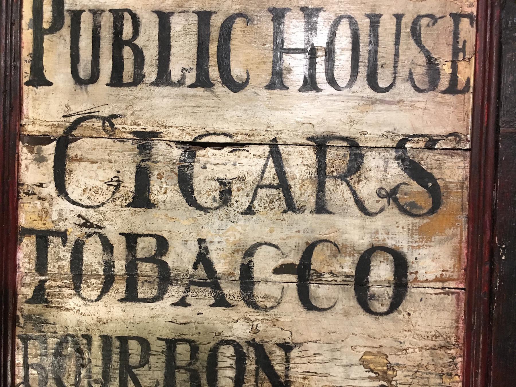 tavern menuboard_custom_tavern sign_colonial american sign company_detail.JPG
