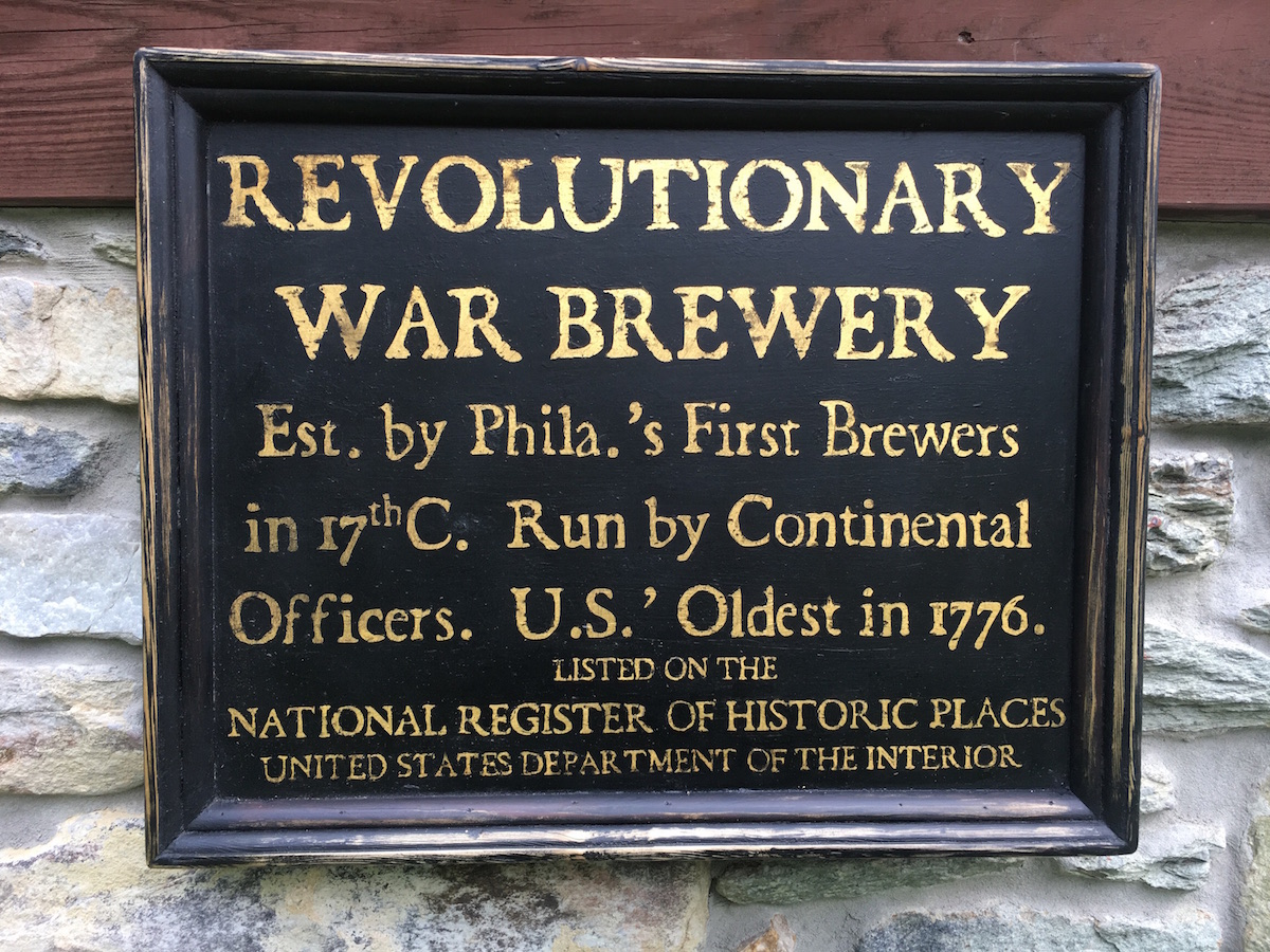revolutionary war brewery sign_walker colonial american sign company.JPG
