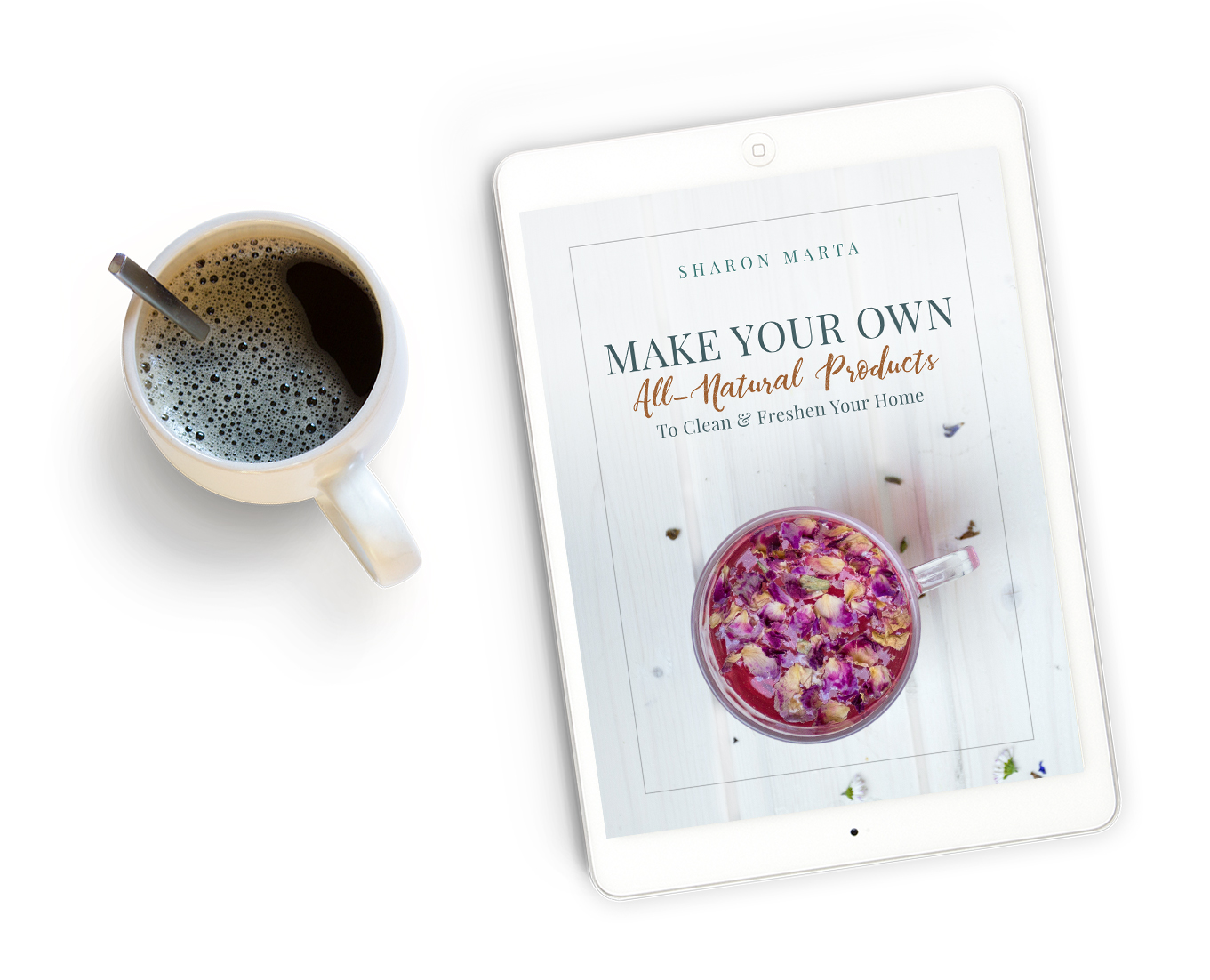 Free Ebook: Make Your Own All-Natural Products To Clean & Freshen your Home