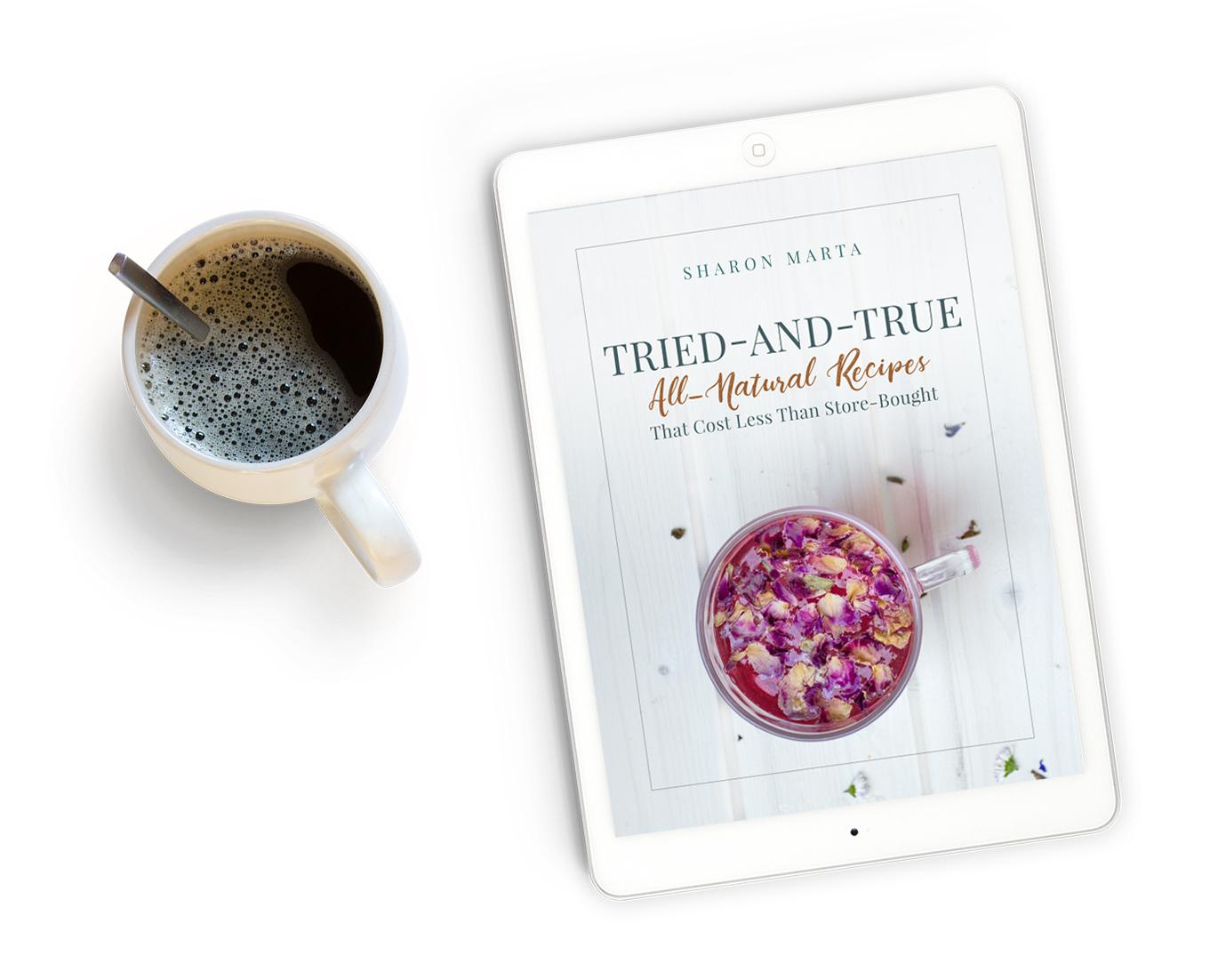 Free All Natural DIY recipes ebook