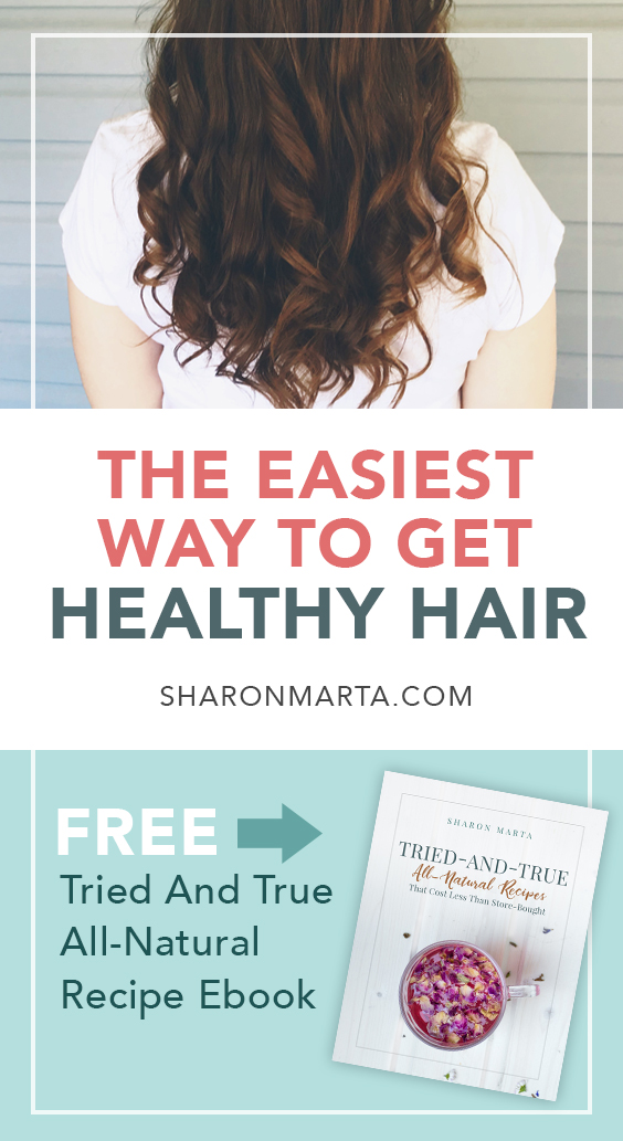 How to get Healthy All Natural Hair with essential oils
