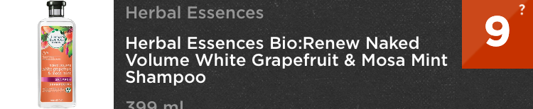 Herbal Essence Think Dirty App shampoo