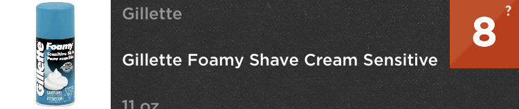 DIY shaving cream for men sensitive skin think dirty app