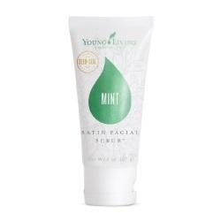 Mint facial scrub