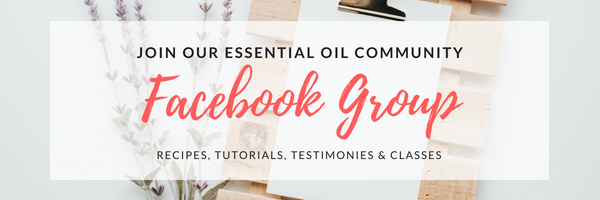 Join the Essential oil Facebook Page