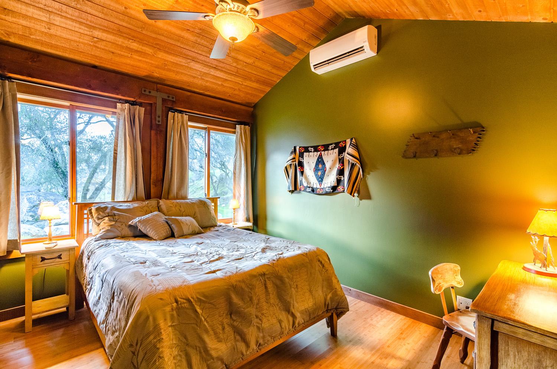 Green Bedroom Downstairs