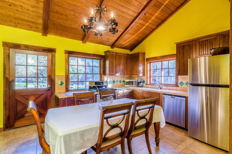 Downstairs Kitchen - Door to Patio