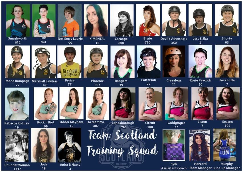 Just look at that talent - the just-announced full lineup of the Team Scotland Training Squad.