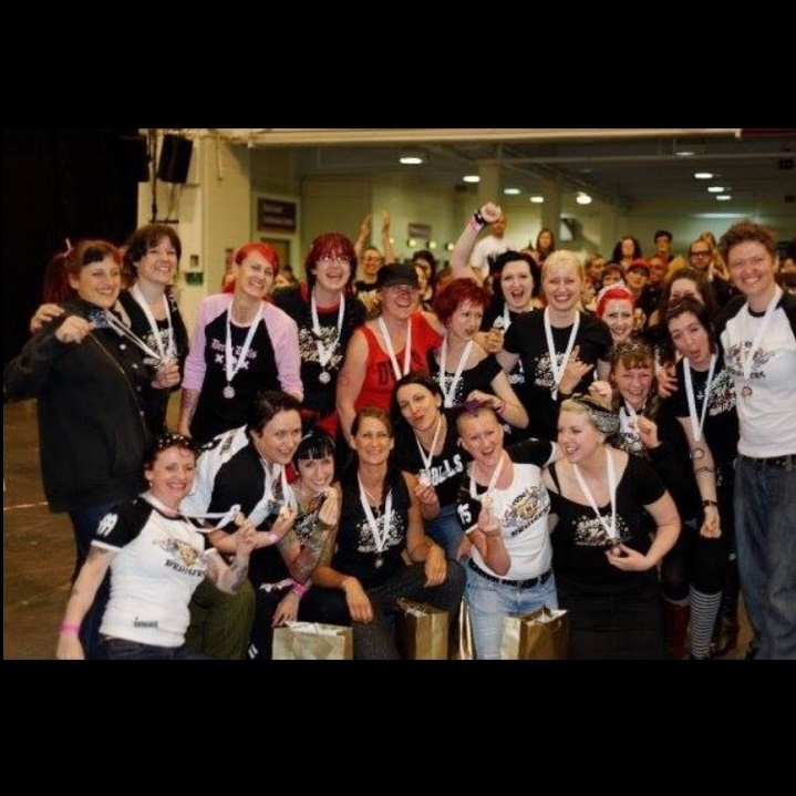 Glasgow Roller Girls' Irn Bruisers, 2009.