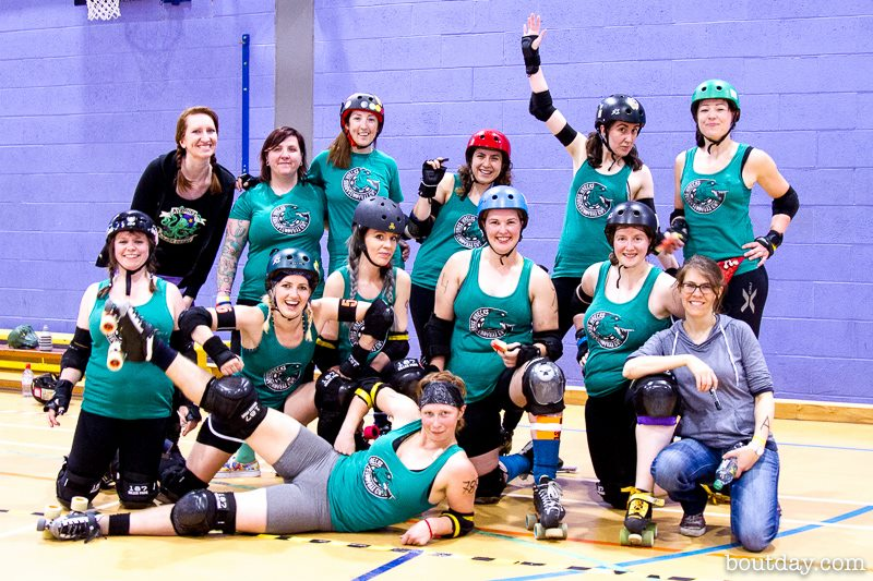 The T-Wrecks after defeating the Death Stars in June. Photo courtesy of Dave McAleavy of Boutday.com.